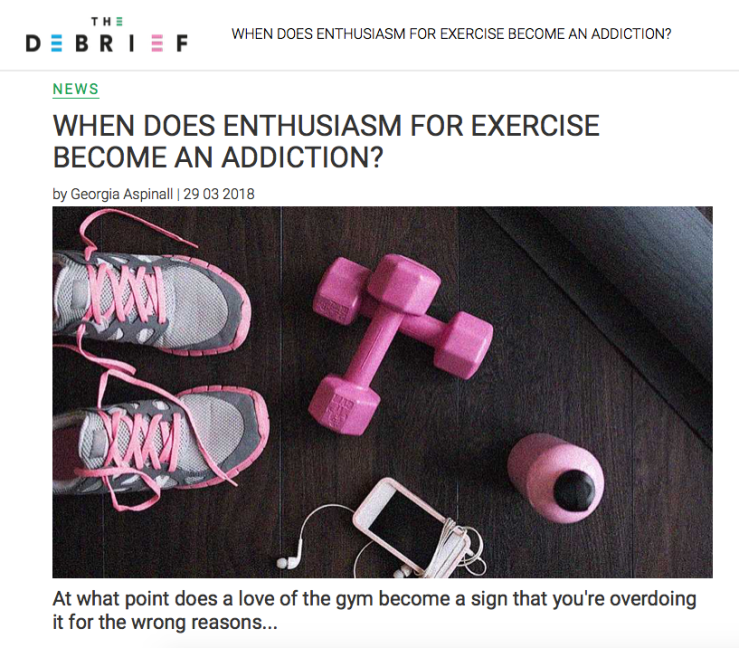 The Debrief - Exercise Addiction Interview.png